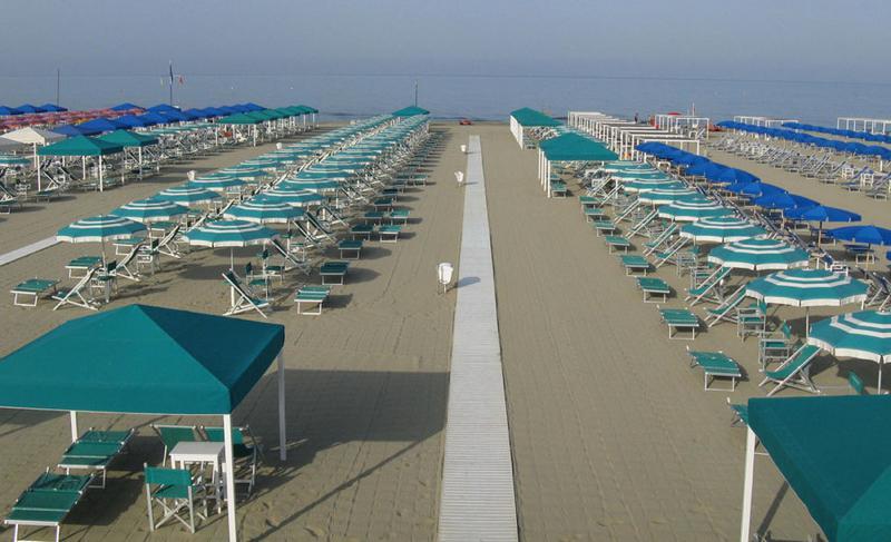 Facilities Bagno Internazionale - Tonfano Versilia